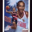 1991-92 Upper Deck Basketball #098 Clyde Drexler - Portland Trail Blazers