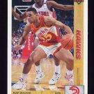 1991-92 Upper Deck Basketball #046 Doc Rivers - Atlanta Hawks