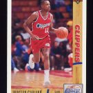 1991-92 Upper Deck Basketball #040 Winston Garland - Los Angeles Clippers