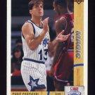 1991-92 Upper Deck Basketball #017 Chris Corchiani RC - Orlando Magic
