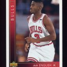 1993-94 Upper Deck Basketball #415 Jo Jo English RC - Chicago Bulls