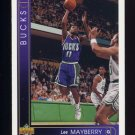 1993-94 Upper Deck Basketball #407 Lee Mayberry - Milwaukee Bucks