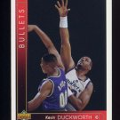 1993-94 Upper Deck Basketball #370 Kevin Duckworth - Washington Bullets