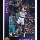 1993-94 Upper Deck Basketball #367 Ken Norman - Milwaukee Bucks