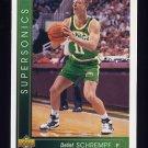 1993-94 Upper Deck Basketball #362 Detlef Schrempf - Seattle Supersonics
