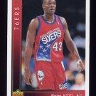 1993-94 Upper Deck Basketball #349 Warren Kidd RC - Philadelphia 76ers