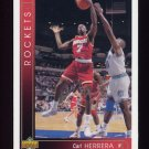1993-94 Upper Deck Basketball #289 Carl Herrera - Houston Rockets
