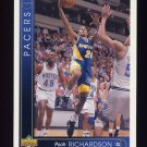 1993-94 Upper Deck Basketball #260 Pooh Richardson - Indiana Pacers