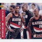 1993-94 Upper Deck Basketball #231 Portland Trail Blazers Schedule