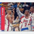 1993-94 Upper Deck Basketball #226 New Jersey Nets Schedule