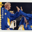 1993-94 Upper Deck Basketball #220 Indiana Pacers Schedule