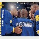 1993-94 Upper Deck Basketball #218 Golden State Warriors Schedule