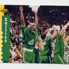 1993-94 Upper Deck Basketball #211 Boston Celtics Schedule