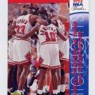 1993-94 Upper Deck Basketball #208 1992-93 Bulls