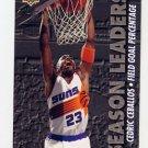1993-94 Upper Deck Basketball #172 Cedric Ceballos - Phoenix Suns