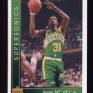1993-94 Upper Deck Basketball #133 Derrick McKey - Seattle Supersonics