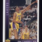 1993-94 Upper Deck Basketball #123 Elden Campbell - Los Angeles Lakers