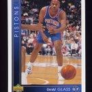 1993-94 Upper Deck Basketball #108 Gerald Glass - Detroit Pistons
