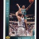 1993-94 Upper Deck Basketball #065 David Wingate - Charlotte Hornets