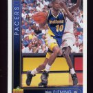1993-94 Upper Deck Basketball #053 Vern Fleming - Indiana Pacers