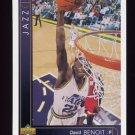 1993-94 Upper Deck Basketball #027 David Benoit - Utah Jazz