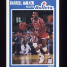 1989-90 Fleer Basketball #161 Darrell Walker - Washington Bullets