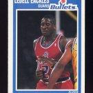 1989-90 Fleer Basketball #158 Ledell Eackles RC - Washington Bullets