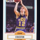 1990-91 Fleer Basketball #189 John Stockton - Utah Jazz