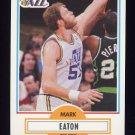 1990-91 Fleer Basketball #184 Mark Eaton - Utah Jazz
