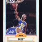 1990-91 Fleer Basketball #182 Thurl Bailey - Utah Jazz