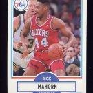 1990-91 Fleer Basketball #144 Rick Mahorn - Philadelphia 76ers