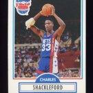 1990-91 Fleer Basketball #122 Charles Shackleford - New Jersey Nets