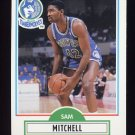 1990-91 Fleer Basketball #114 Sam Mitchell RC - Minnesota Timberwolves