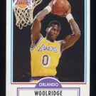 1990-91 Fleer Basketball #096 Orlando Woolridge - Los Angeles Lakers