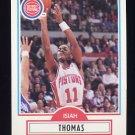 1990-91 Fleer Basketball #061 Isiah Thomas - Detroit Pistons