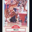 1990-91 Fleer Basketball #007 Kevin Willis - Atlanta Hawks