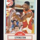 1990-91 Fleer Basketball #002 Cliff Levingston - Atlanta Hawks