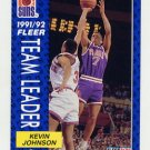 1991-92 Fleer Basketball #392 Kevin Johnson - Phoenix Suns