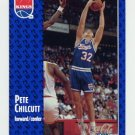 1991-92 Fleer Basketball #348 Pete Chilcutt RC - Sacramento Kings