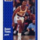1991-92 Fleer Basketball #346 Danny Young - Portland Trail Blezers