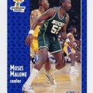 1991-92 Fleer Basketball #315 Moses Malone - Milwaukee Bucks