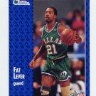 1991-92 Fleer Basketball #270 Fat Lever - Dallas Mavericks