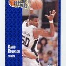 1991-92 Fleer Basketball #225 David Robinson - San Antonio Spurs