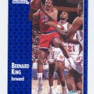 1991-92 Fleer Basketball #208 Bernard King - Washington Bullets