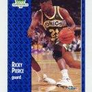1991-92 Fleer Basketball #195 Ricky Pierce - Seattle Supersonics