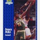 1991-92 Fleer Basketball #193 Derrick McKey - Seattle Supersonics
