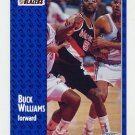 1991-92 Fleer Basketball #173 Buck Williams - Portland Trail Blazers