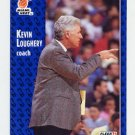 1991-92 Fleer Basketball #110 Kevin Loughery CO - Miami Heat