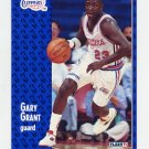 1991-92 Fleer Basketball #089 Gary Grant - Los Angeles Clippers