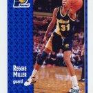 1991-92 Fleer Basketball #083 Reggie Miller - Indiana Pacers